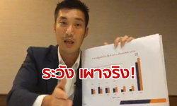 #ธนาธรไลฟ์ เตือนเศรษฐกิจไทยวิกฤติ ขั้นเผาจริง! สัญญาณอันตรายเพียบ