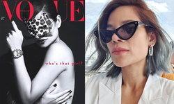 """แซ่บมาก """"โอปอล์ ปาณิสรา"""" กับลุคแม่เสือสาวบนปก Vogue Thailand"""