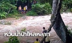 อุทยานฯเขาหลวง ประกาศปิด 6 น้ำตก หลังฝนตกหนัก หวั่นน้ำป่าไหลหลาก