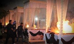 เสียงสะอื้นลั่นวัด พิธีพระราชทานเพลิงศพ 9 ผู้กล้า ชรบ.ลำพะยา