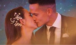 """ประมวลภาพ """"เทย่า-มิก้า"""" แลกจูบตรึงใจ เริ่มต้นชีวิตคู่ ฉลองแต่งงานใต้ดวงดาว"""