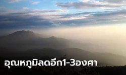 ยังหนาวกว่านี้! อุตุฯ เตือนไทยตอนบนเย็นลงต่อเนื่อง 1-3 องศา