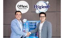OTTERI จับมือ HYGIENE จำหน่ายผลิตภัณฑ์ไฮยีนที่ร้านสะดวกซัก OTTERI WASH & DRY ทุกสาขา