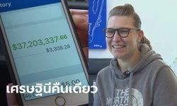 หญิงมะกันโอนเงินกว่า 1 พันล้านคืน หลังธนาคารมีการโอนผิด