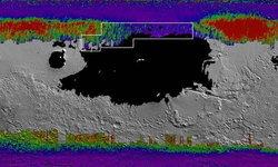 """""""นาซา"""" เปิดลายแทงขุมทรัพย์ """"แผนที่ธารน้ำแข็ง"""" บนดาวอังคาร"""