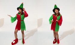 ทูลกระหม่อมหญิงฯ ทรงขับร้อง-เต้นเพลงคริสต์มาส พร้อมอวยพรพสกนิกรชาวเน็ต