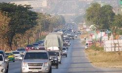 ถนนมิตรภาพขาเข้าปากช่อง–สีคิ้ว รถติดยาว 27 กิโลเมตร