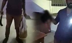สยอง! ชายอินเดียหิ้วหัวเมียเข้ามอบตัวกับตำรวจ แค้นเห็นเมียอยู่กับชายชู้
