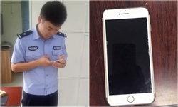 ไม่มีแฟน! ตำรวจเขินเบาๆ ให้ Siri โทรหาแฟนหนุ่มเจ้าของไอโฟนทำหล่น
