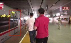 ตกรถ! ชายจีนมัวให้สัมภาษณ์นักข่าว สุดท้ายพลาดขึ้นรถไฟความเร็วสูงเที่ยวปฐมฤกษ์