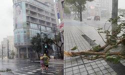 """เตือนอากาศเลวร้ายทั่วประเทศ เร่งอพยพ ปชช. หลัง """"จ่ามี"""" เคลื่อนตัวพัดถล่มญี่ปุ่น"""