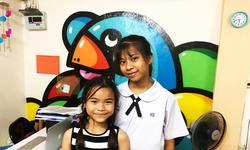 กระแต และ ใบเตย 2 เด็กในชุมชนคลองเตยเผยเรียนดนตรีช่วยสร้างความภูมิใจ และมีความมั่นใจ