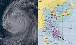 """พายุ """"กองเร็ย"""" ทวีกำลังเป็นซูเปอร์ไต้ฝุ่น ลุ้นมุ่งหน้าถล่มไต้หวัน-เกาหลีใต้"""