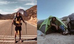 """หนุ่มไทยสุดแกร่ง! พิชิตเดินป่า """"4,265 กิโลเมตร"""" จากเม็กซิโก ถึงแคนาดา นาน 5 เดือน"""