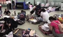 ศุลกากรจีนตรวจเข้ม สัมภาระผู้โดยสารขาเข้า โดนปรับจ่ายภาษีกันระนาว