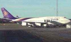 การบินไทย TG679 ลงจอดกลางพายุฝน ลื่นไถลออกนอกรันเวย์