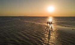 สันทรายดาวตก ภูมิทัศน์ชายฝั่งทะเลอันงดงามในฝูเจี้ยน