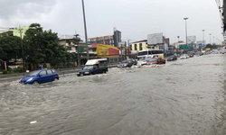 ตกเมื่อไหร่ก็ท่วม! พายุฝนกระหน่ำเมืองพัทยา น้ำท่วมขังหลายจุด-รถสัญจรลำบาก