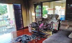 สาวใช้เดนนรก ปล้นทรัพย์นายจ้างแล้ววางเพลิงเผาบ้านอำพราง