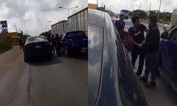 ตร.เตรียมเรียก หนุ่ม BMW ทะเลาะกระบะ แย่งปืนกลางถนนมาดำเนินคดี