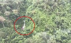 พบแล้ว! นักท่องเที่ยวตกเขา อาการสาหัส ติดอยู่ร่องเหวกลางป่าสังขละบุรี
