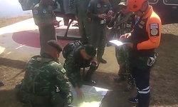 ทหารโรยตัวช่วยคนตกเขา จ.กาญจนบุรี ได้แล้ว ต้องหามเดินเท้ามาขึ้นเฮลิคอปเตอร์