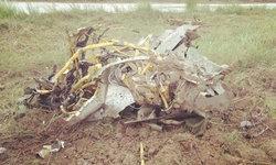 เครื่องบินรบเมียนมาตกใกล้ชายแดน นักบินดีดตัวแต่ร่มไม่กางดับ 2 ศพ