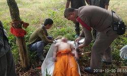 หลวงพี่บวชหนีรัก 2 เดือน ยังทำใจไม่ได้ ผูกคอมรณภาพคาผ้าเหลือง