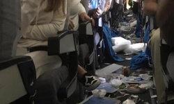 สภาพดูไม่ค่อยดี เครื่องบินอาร์เจนตินาตกหลุมอากาศรุนแรง เจ็บระนาว