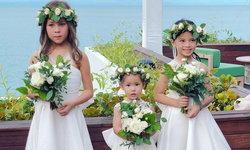 """เก็บตกนางฟ้าตัวน้อย """"ไลลา-บีน่า-ริชา"""" Flower girls งานแต่งเจนี่-มิกกี้"""