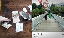 โซเชียลอินโดฯ แห่กดไลค์อาลัย เจ้าของภาพบนเคสมือถือที่พบในซากเครื่องบินตก