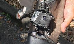 คลิปเหยื่อเพียบ! แฉหนุ่มติดกล้องที่รองเท้า แอบถ่ายใต้กระโปรงสาวม.ดัง นาน 3 ปี
