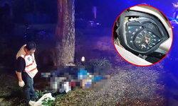หมอกลงจัด-โจ๋วัย 17 ปีขี่จักรยานยนต์ชนต้นไม้เสียชีวิต เข็มไมล์ค้าง 50 กม./ชม.