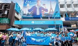 """ขบวนพาเหรด """"กรุงไทย NEXT"""" ร่วมสร้างสีสันกลางเมืองสุราษฎร์ธานีในงานประเพณีประจำปี"""