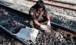 สยองย่านมักกะสัน หนุ่มโดนรถไฟชนกระจุย แขนขากระจายเกลื่อน