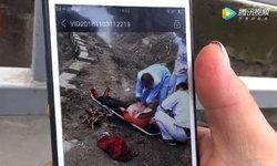คนนับสิบแห่ช่วย! หญิงจีนโดดแม่น้ำฆ่าตัวตาย หุ่นอวบจัดลากขึ้นฝั่งทุลักทุเล