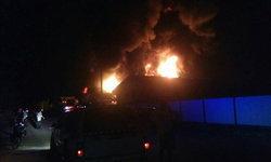 ไฟไหม้กลางดึก โกดังเก็บโฟมโรงงานในอยุธยา วอดวายยาวถึงรุ่งเช้า