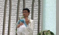 """มีความสุข หนุ่มญี่ปุ่นแต่งงานกับ """"ฮัตสึเนะ มิกุ"""" สาวน้อยโฮโลแกรม"""