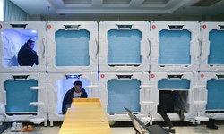 """ฟรี! โรงพยาบาลจีนเปิดตัว """"ตู้นอนสองชั้น"""" สำหรับญาติผู้ป่วยไอซียู"""