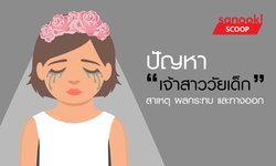 """""""เจ้าสาววัยเด็ก"""" ปัญหาที่เกิดขึ้นจริงในประเทศไทย แต่ไม่ค่อยมีใครพูดถึง"""