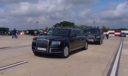 """""""ปูติน"""" สั่งขนรถคันโปรด Aurus Senat ข้ามทวีปไว้ขับไปประชุม G20"""