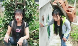 โซเชียลจีนฮือฮา เปิดชีวิตแสนลำบากเกษตรกรสาวหมวย สวยที่สุดในมณฑล