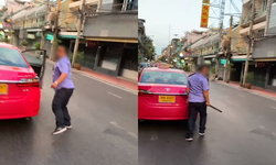 แท็กซี่ไทยฉาวอีก พิธีกรดังชาวเกาหลีเจอไล่ลงจากรถ-เอาไม้ไล่ฟาด