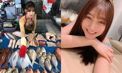 แม่ค้าแซ่บ สาวไต้หวันช่วยครอบครัวขายปลา ทำชาวเน็ตอยากไปซื้อปลาขึ้นมาทันที