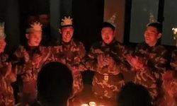 ยกนิ้วให้! ดับเพลิงจีนทิ้งงานวันเกิด หลังสัญญาณเตือนภัยดังขัดขณะร้องเพลงฉลอง