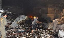 ราบเป็นหน้ากลอง! ไฟไหม้โรงงานผลิตอาหารเสริม คนงานหนีตาย เสียหายกว่า 10 ล้าน