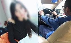 ผู้โดยสารสาวสวยช็อก แท็กซี่แอบมองแล้วช่วยตัวเอง ปัดแต่งตัวโป๊ยั่วคนขับ