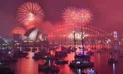"""ปีใหม่แล้วจ้า! """"ออสเตรเลีย"""" เปลี่ยนศักราช 2019 จุดพลุสุดตระการตารอบอ่าววิกตอเรีย"""