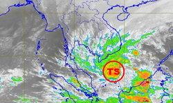 """กรมอุตุฯ สั่งจับตา """"พายุโซนร้อนปาบึก"""" จ่อลงอ่าวไทย-กระทบภาคใต้"""
