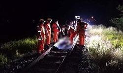 หนุ่มนิรนามถูกรถไฟชนดับคาราง ตำรวจเร่งลงพื้นที่สืบหาสาเหตุ